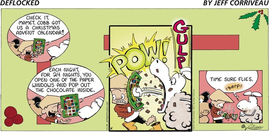 DeFlocked Comic Strip for November 28, 2010