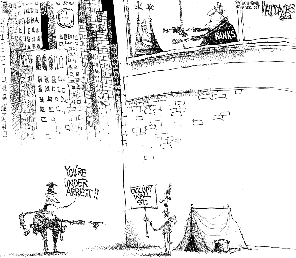 Matt Davies Comic Strip for November 17, 2011