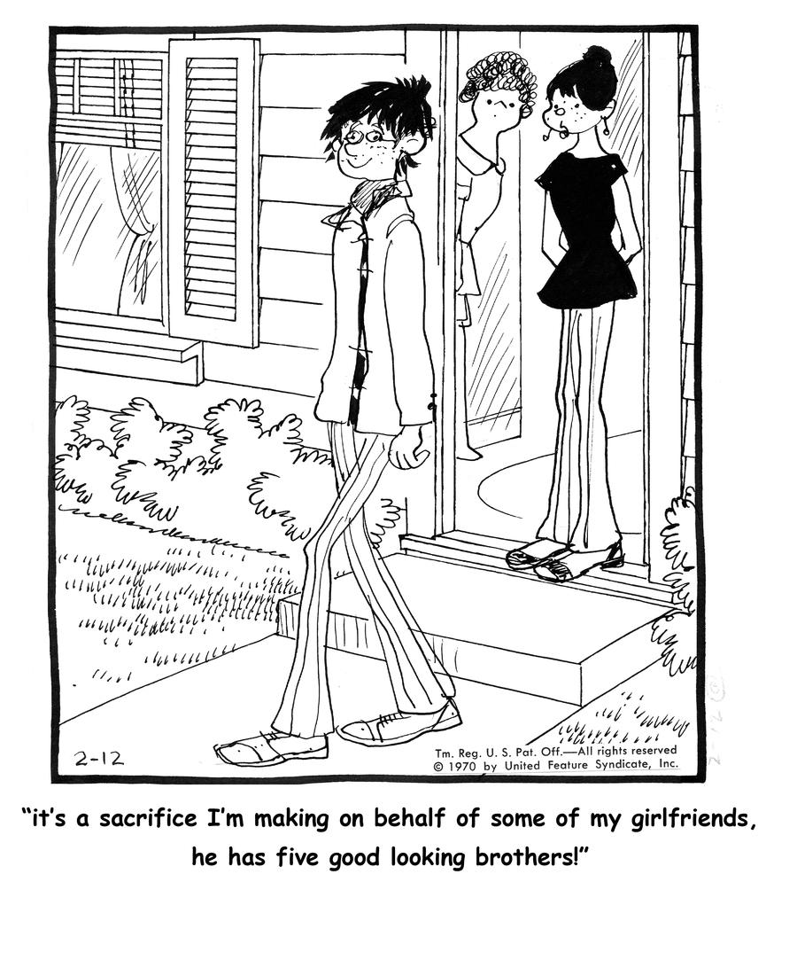Emmy Lou for Feb 24, 2013 Comic Strip