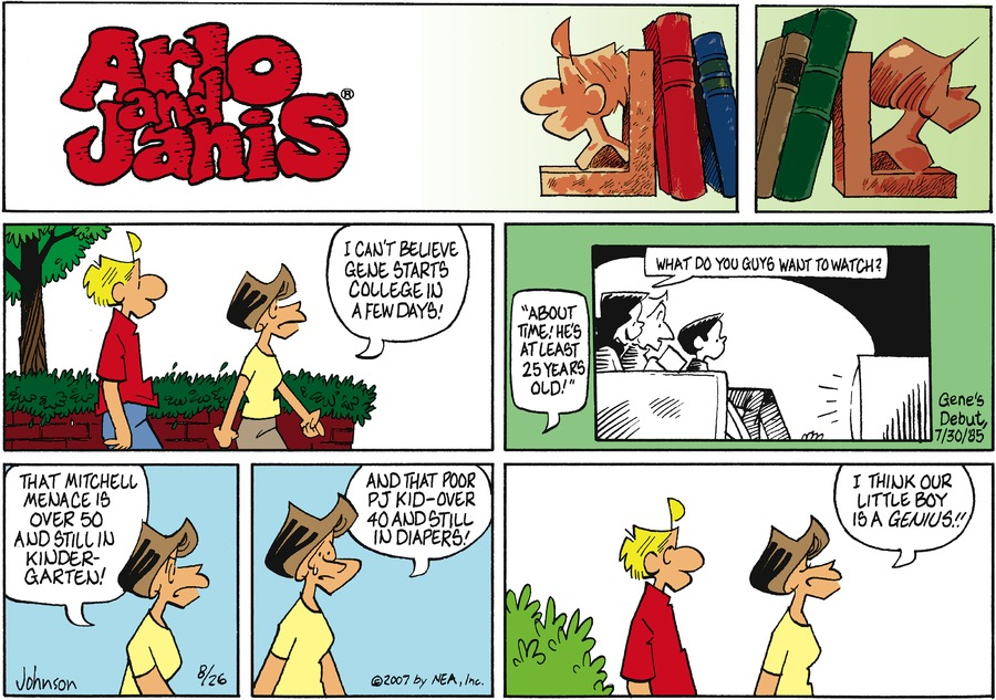 Arlo and Janis Comic Strip for August 26, 2007