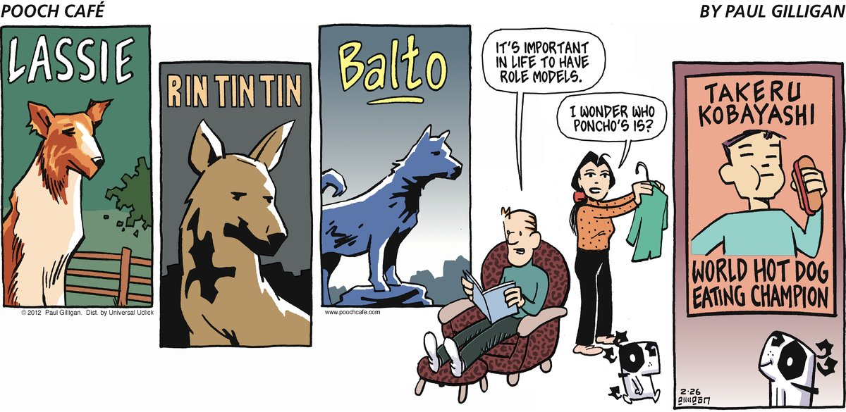 Pooch Cafe Comic Strip for February 26, 2012