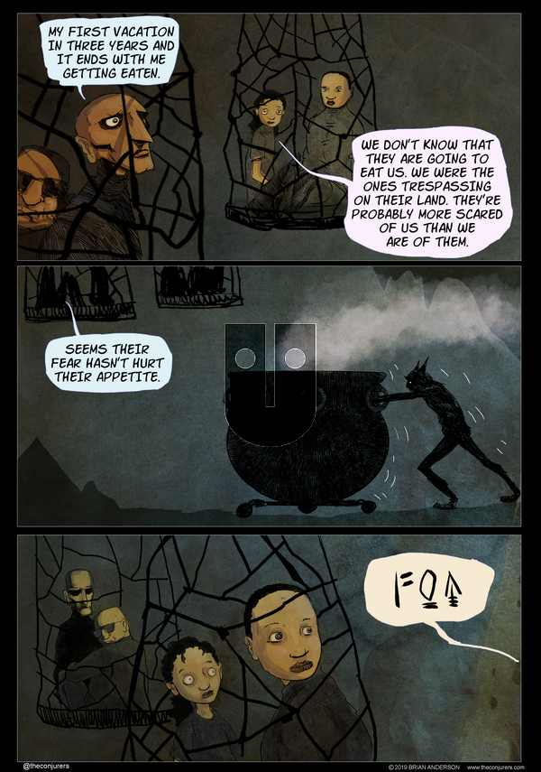 The Conjurers on Monday November 11, 2019 Comic Strip