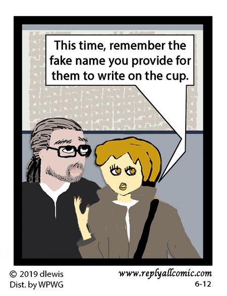 Reply All Lite Comic Strip for June 12, 2019