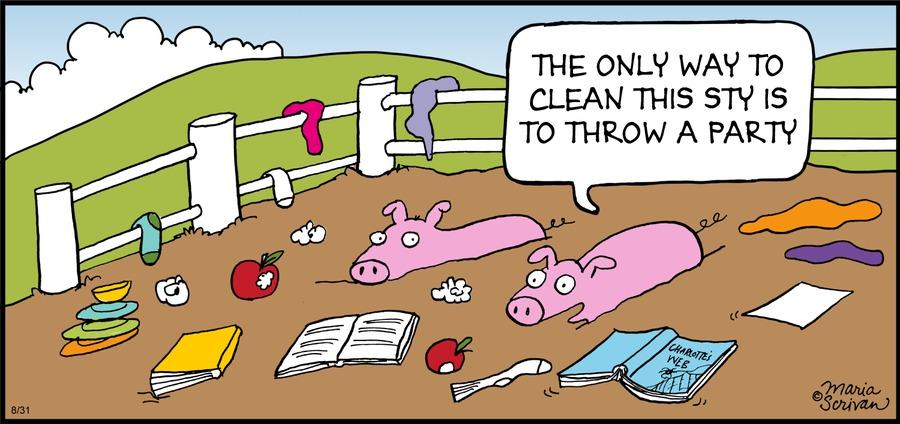 Half Full Comic Strip for August 31, 2014