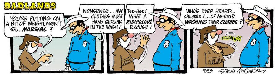 Badlands Comic Strip for July 20, 2021