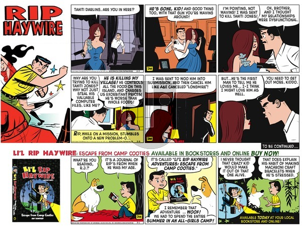 Rip Haywire on Sunday September 18, 2016 Comic Strip