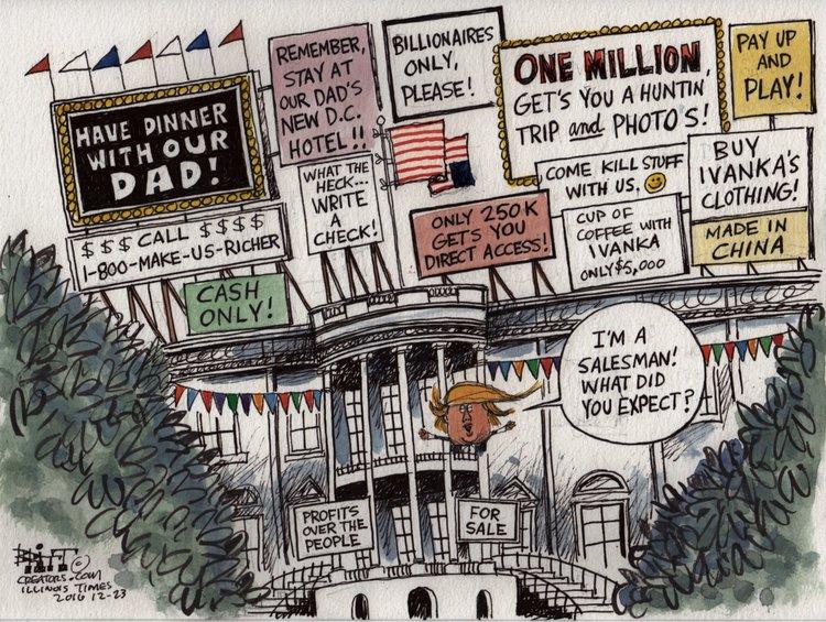 Chris Britt Comic Strip for December 24, 2016