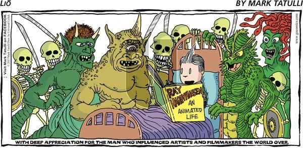 Lio on Sunday June 16, 2013 Comic Strip