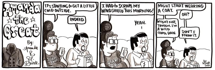 Amanda the Great Comic Strip for October 18, 2020