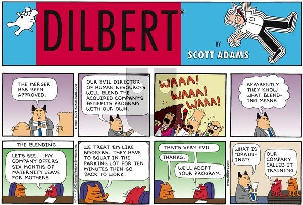 Dilbert - Sunday June 9, 2002 Comic Strip