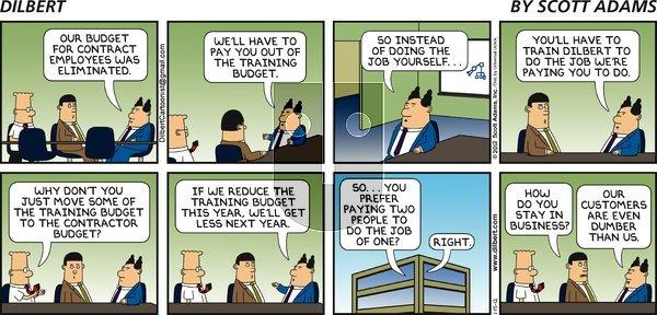 Dilbert - Sunday January 15, 2012 Comic Strip
