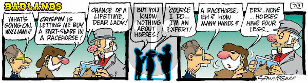 Badlands on Tuesday March 2, 2021 Comic Strip