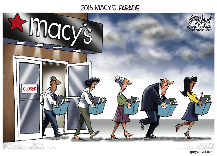 Gary Varvel Comic Strip for August 15, 2016
