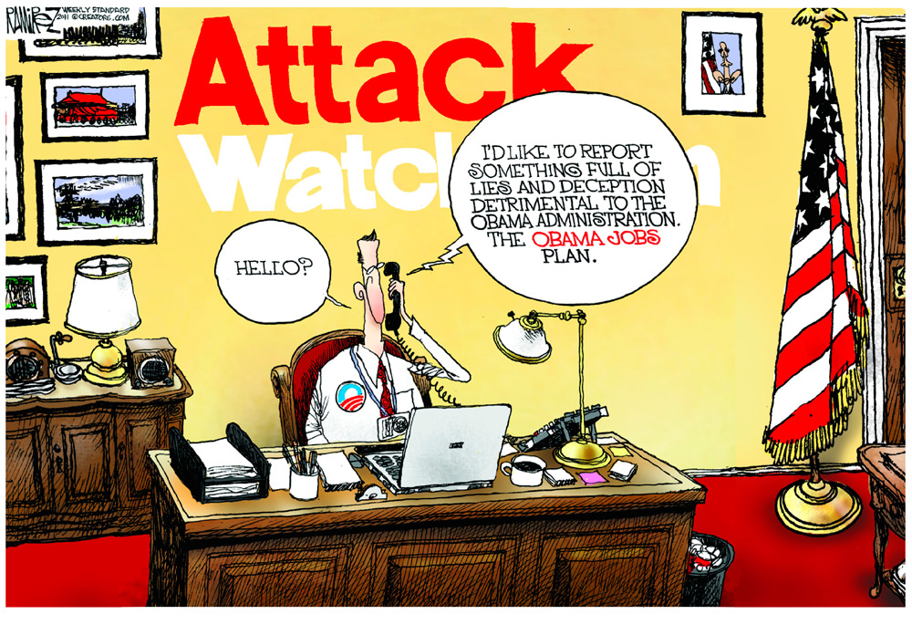 Michael Ramirez Comic Strip for September 25, 2011
