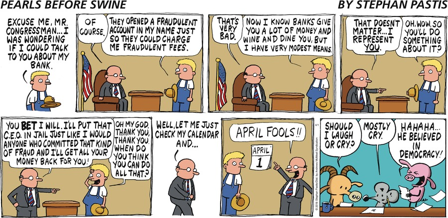 Pearls Before Swine Comic Strip for April 01, 2018