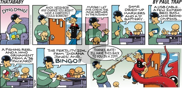 Thatababy on Sunday August 19, 2018 Comic Strip