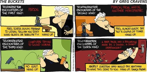 The Buckets on Sunday December 11, 2016 Comic Strip