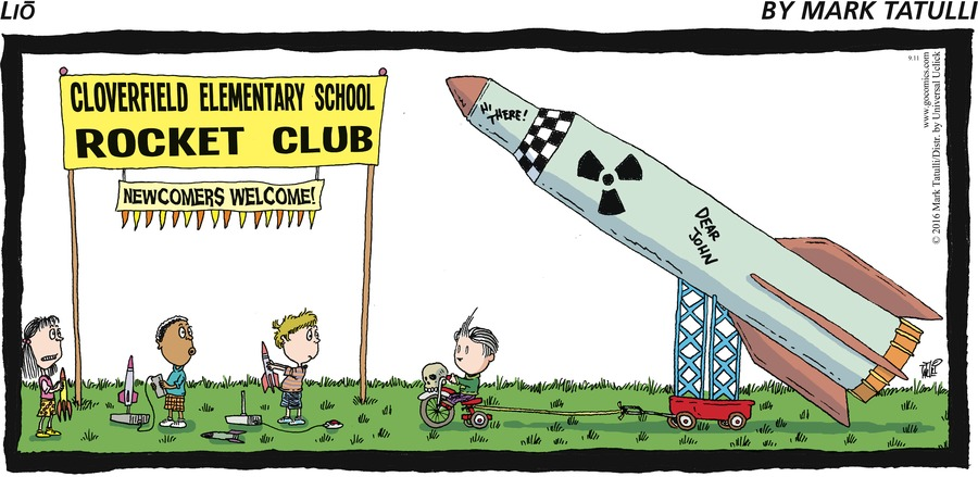 Cloverfield Elementary School Rocket Club. Newcomers welcome!