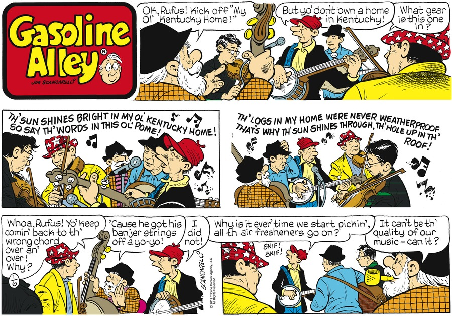 Gasoline Alley Comic Strip for January 06, 2019