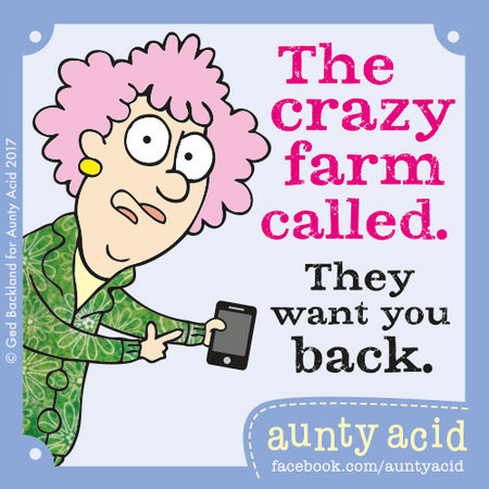 Aunty Acid for Jan 21, 2018 Comic Strip
