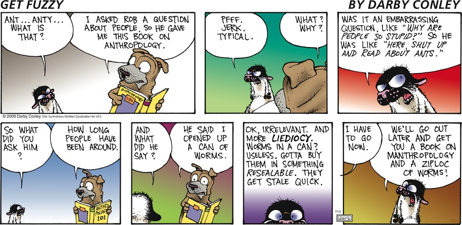 Get Fuzzy Comic Strip for July 19, 2020