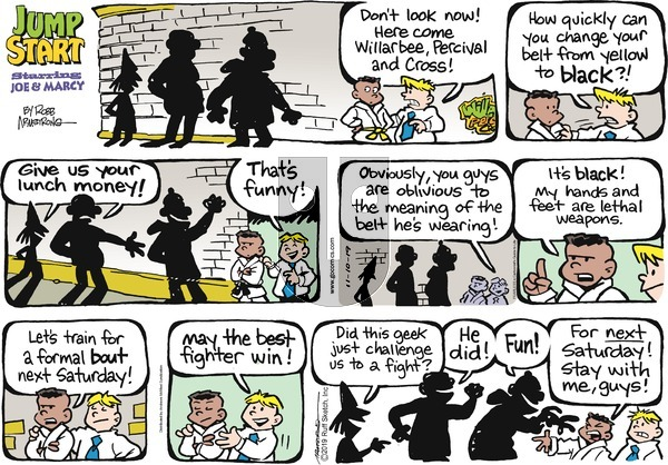 JumpStart - Sunday November 10, 2019 Comic Strip