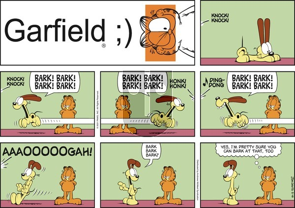 Garfield on Sunday May 16, 2021 Comic Strip