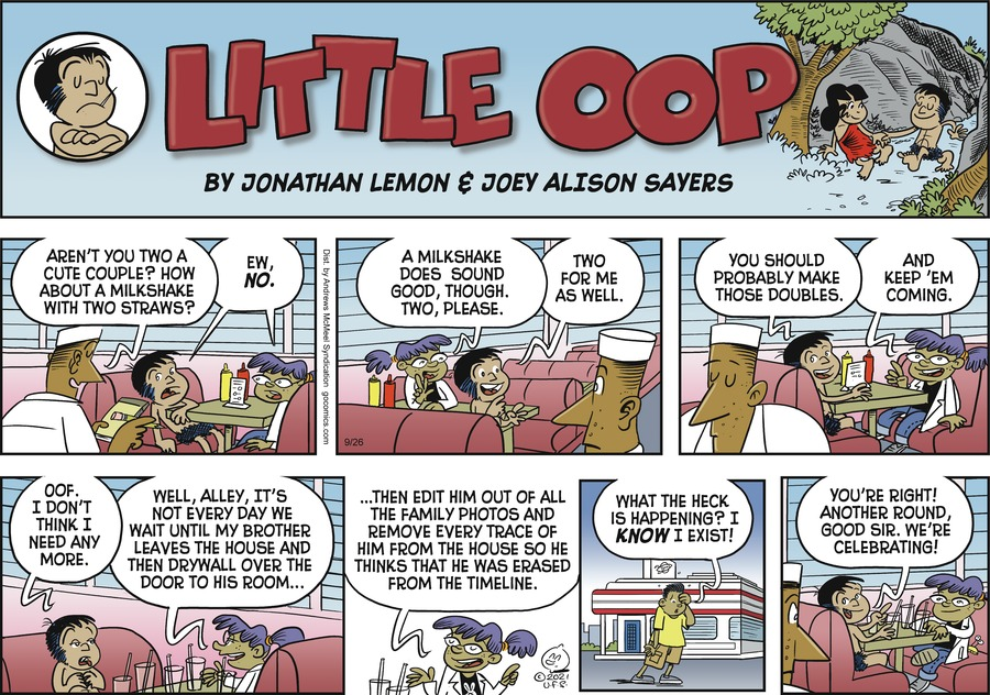 Alley Oop Comic Strip for September 26, 2021