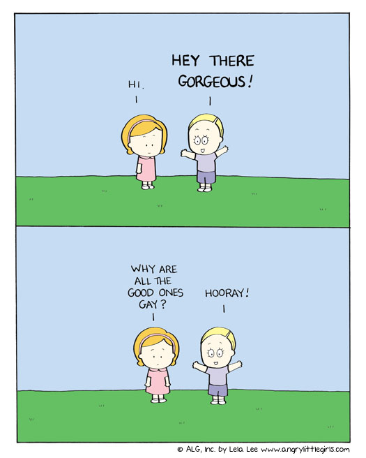 Angry Little Girls Comic Strip for November 17, 2011