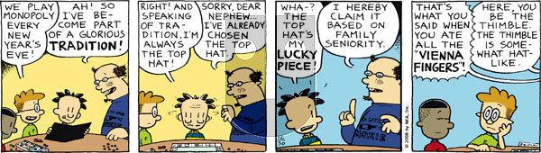 Big Nate on Tuesday December 30, 2008 Comic Strip