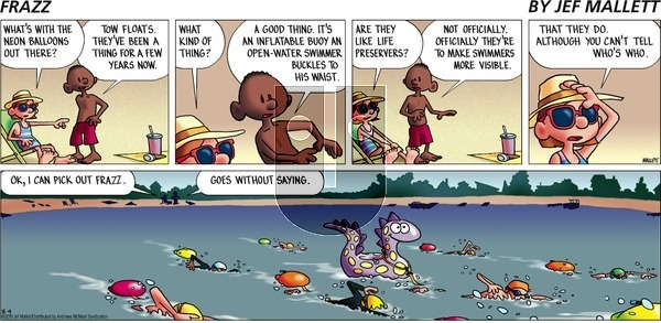 Frazz on Sunday August 4, 2019 Comic Strip