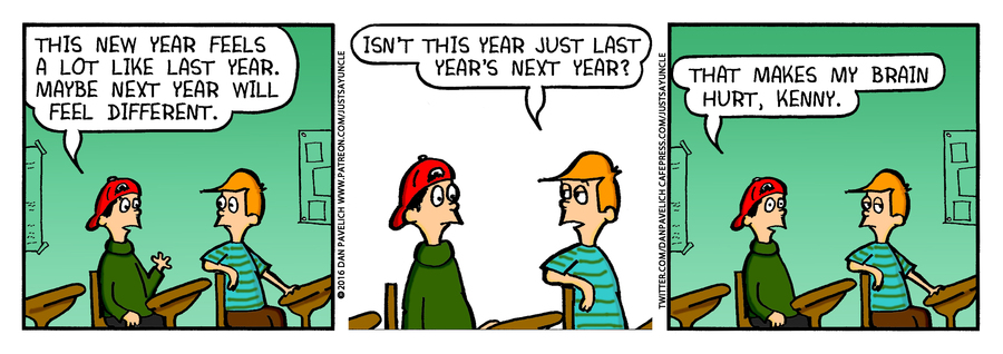 Just Say Uncle Comic Strip for January 05, 2019