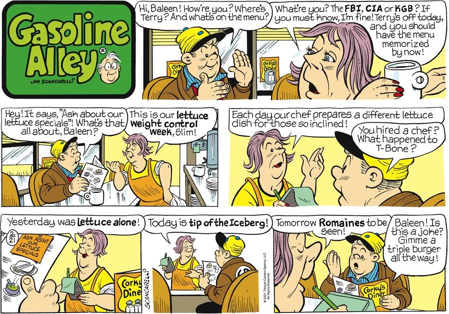 Gasoline Alley by Jim Scancarelli on Sun, 21 Feb 2021