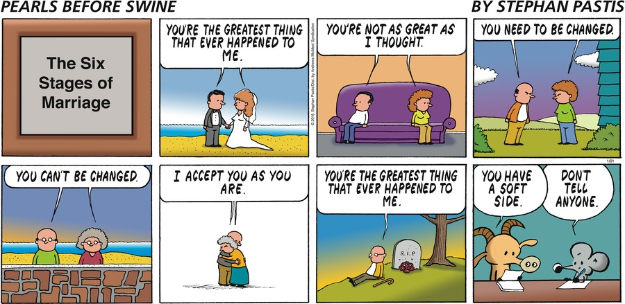 Pearls Before Swine Comic Strip for January 21, 2018
