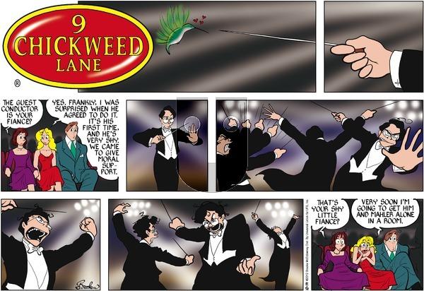 9 Chickweed Lane on Sunday October 14, 2012 Comic Strip