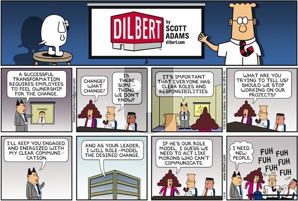 Dilbert on Sunday July 11, 2010 Comic Strip