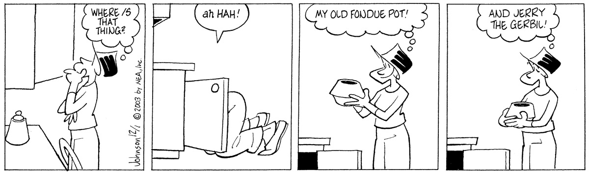 Arlo and Janis Comic Strip for December 01, 2003