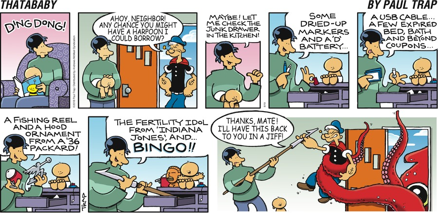 Thatababy Comic Strip for August 19, 2018