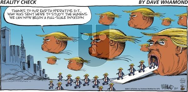 Reality Check - Sunday October 1, 2017 Comic Strip