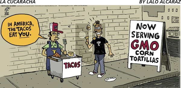 La Cucaracha on Sunday November 17, 2013 Comic Strip