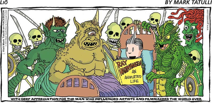Lio for Jun 16, 2013 Comic Strip