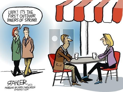 Jeff Stahler on Sunday March 21, 2021 Comic Strip