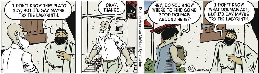Alley Oop Comic Strip for July 03, 2019