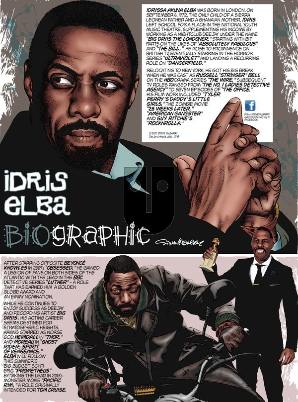 Biographic on Sunday March 18, 2012 Comic Strip