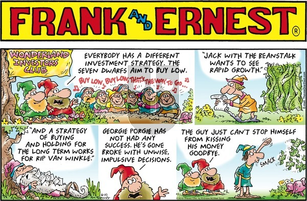 Frank and Ernest on Sunday June 10, 2018 Comic Strip