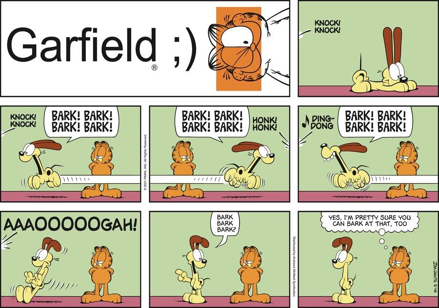 Garfield Comic Strip for May 16, 2021