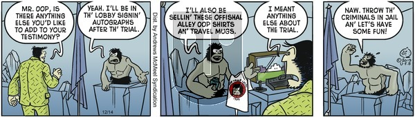 Alley Oop on Saturday December 14, 2019 Comic Strip