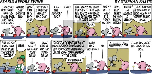 Pearls Before Swine on Sunday June 5, 2016 Comic Strip