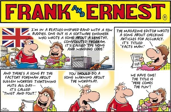 Frank and Ernest on Sunday September 20, 2020 Comic Strip