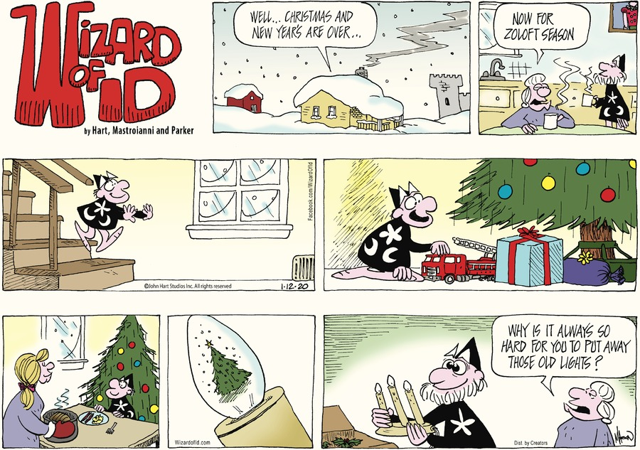 Wizard of Id Comic Strip for January 12, 2020